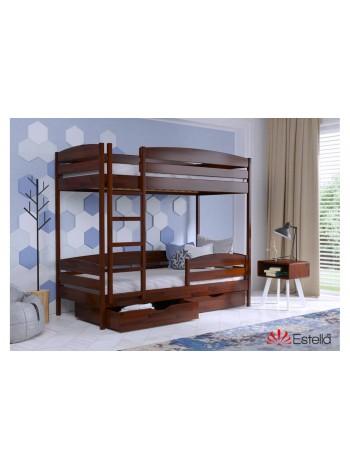 Двухъярусная Кровать Дуэт Плюс Массив